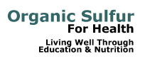 Organic Sulfur 4 Health