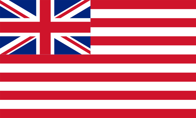 You will see that the Betsy Ross flag more closely resembles the flag of the