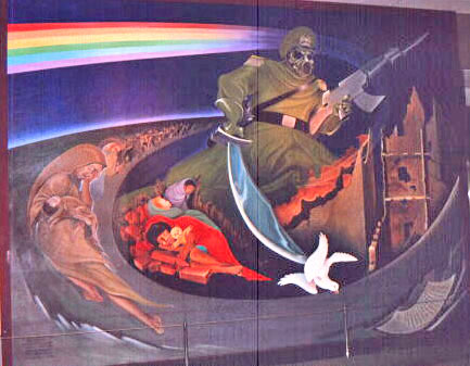 Denver Airport Murals Pictures Are Said To Say A Thousand Words ... Part 95