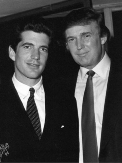 Is JFK Jr. alive, and collaborating with Trump? Behind Q, is R? JFK_Jr_and_Trump